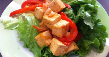 Tofu Stirfry Wraps
