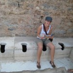 Potty Humor in Ephesus, Turkey