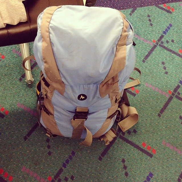 PDX carpet + my bag