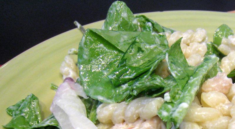 In Season Cooking: Arugula & Goat Cheese Pasta Salad