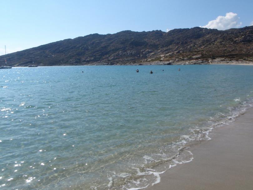 beach in Ios