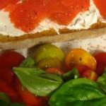Tomato Salad + Smoked Salmon on Toast: In Season Cooking