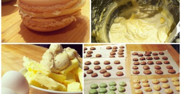 making macarons