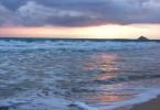 sunrise in Kailua