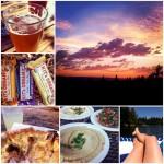 Portland Sunsets + Lebanese + River Floats  = Weekly Love