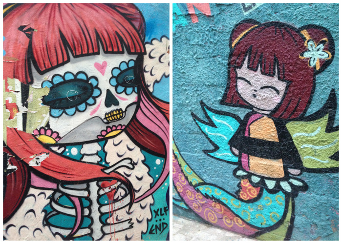 Anime & Dead streetart