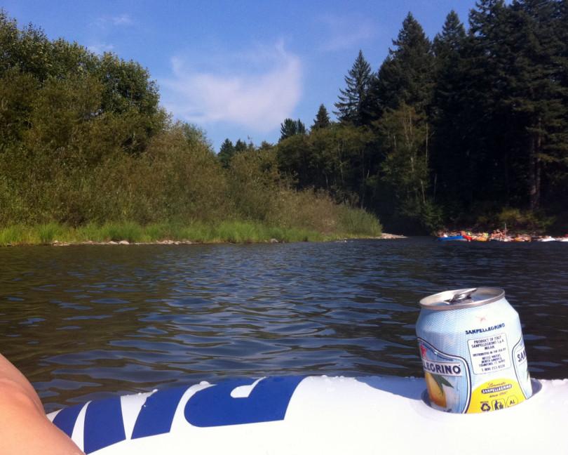 Clackamas River float