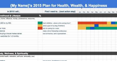 Annual Goals Template 2015