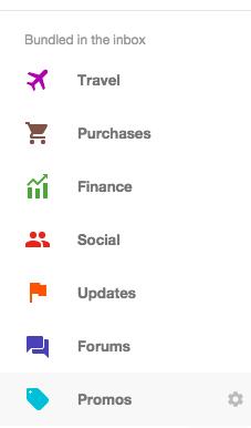 Inbox-bundles